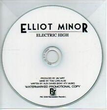 (AB287) Elliot Minor, Electric High - DJ CD