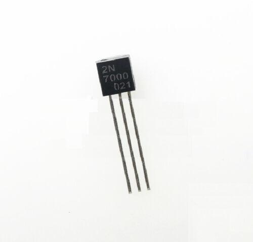 500 pcs 2N7000 MOSFET N-CH 60V 200MA TO-92 NEW