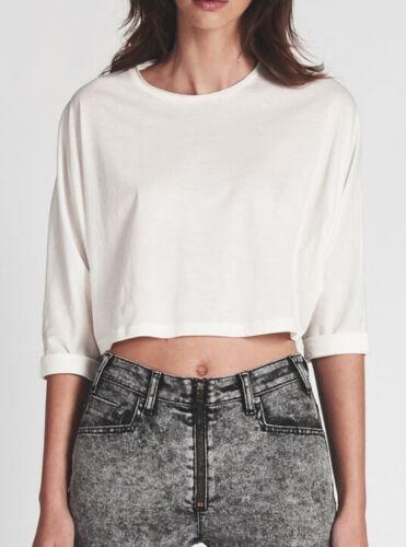 T bianco morbido One oversize Teaspoon Womens cotone s in 20345a shirt Xs taglia zgFBtW1wqF