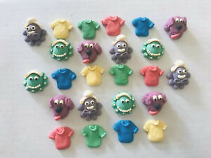24-Sugar-Icing-Wiggles-Cupcake-Toppers-Decorations-Cake-Party-Edible