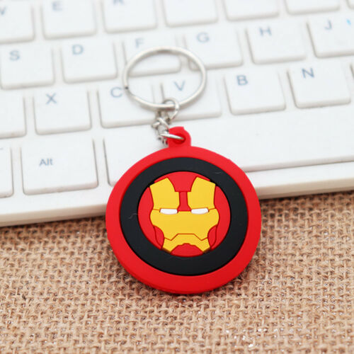 Iron Man Captain America Spider-Man Batman Superman Key Chains Keychain Keyring