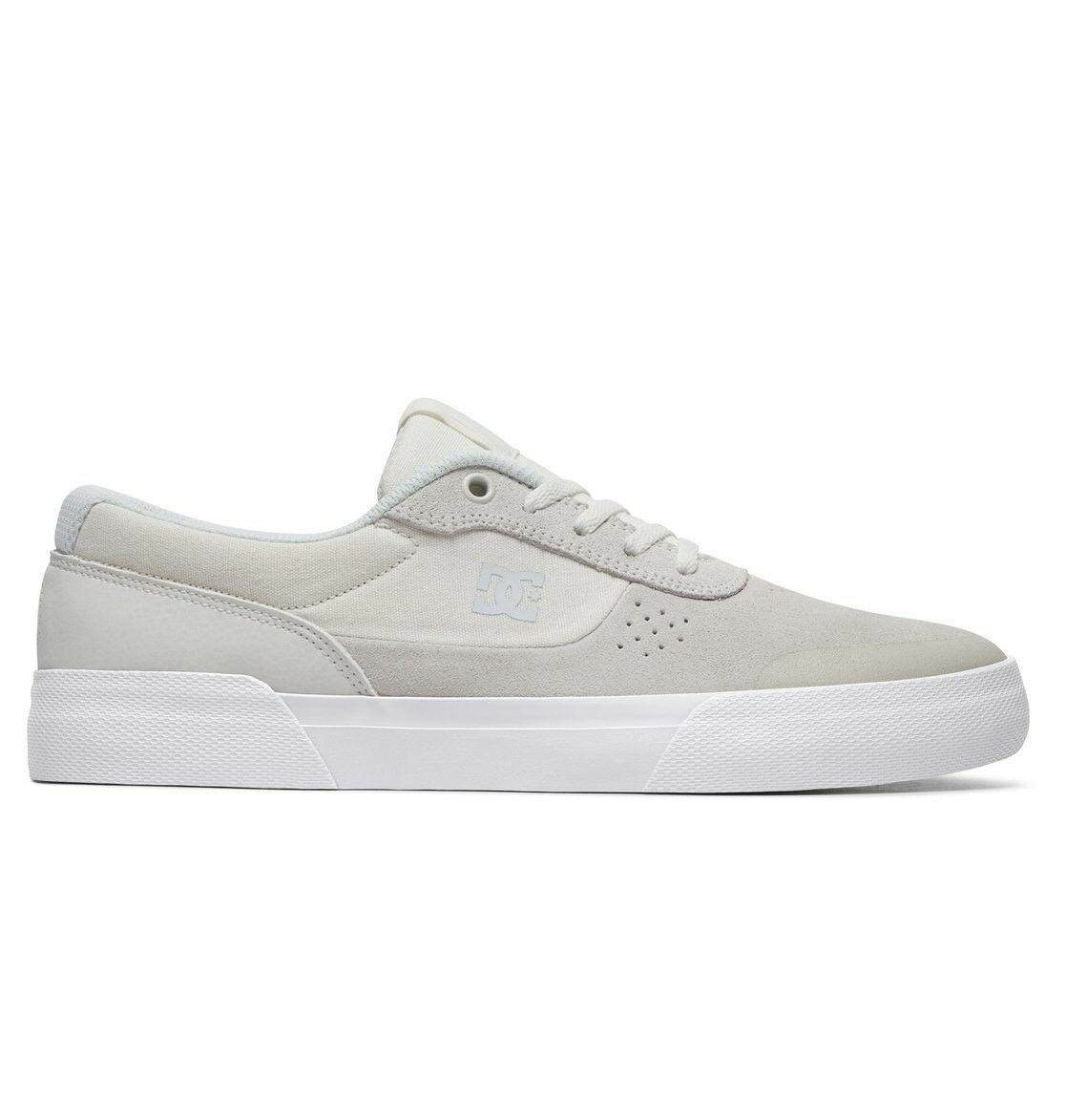 DC S Chaussures SWITCH PLUS S DC Blanc Skate Baskets 824329
