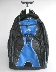 Image Is Loading High Sierra Freewheel Wheeled Book Bag Backpack Royal