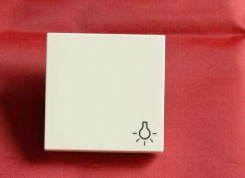 g6 Gira système 55 bascule avec lumière-icône 028527 blanc virginal Mat