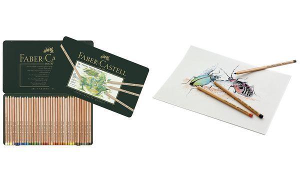 FABER-CASTELL Buntstifte PITT PASTELL, 24er Metalletui   Reichhaltiges Design    Großer Verkauf    Konzentrieren Sie sich auf das Babyleben