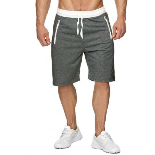 Training Shorts Pants Fitness Jogging Casual Workout Polyester Trousers