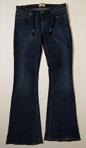 Roxy-Denim-Jeans-Size-11-Flare-Leg-Vintage