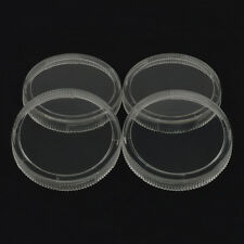 2 Replacement Clear Regulator Gauge Lens Cover 14 Turn Twist Lock 4 Lenses