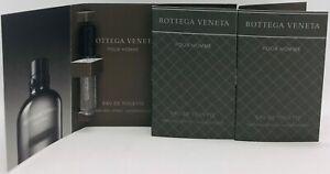 💝 Bottega Veneta POUR HOMME EdT 3 x 1,2 ml Duftproben Neu/OVP