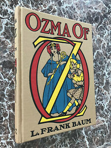 Ozma of Oz~ L.Frank Baum,Best Facs of 1907 First Edition~w/MAP~Wonderful Wizard