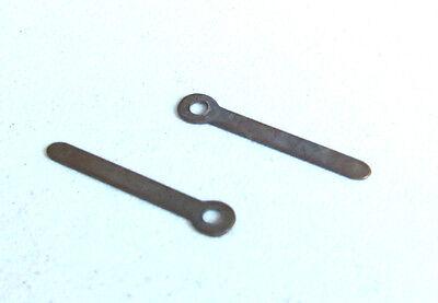 2 X Hornby Dublo / Wrenn Brass Power Input Tag, Spare