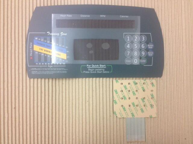 Life Fitness superior superposición Teclado 9500 9500hrt próxima generación elíptica I680 I570