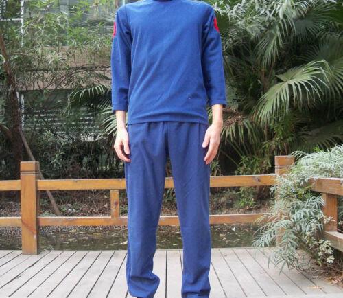 Blue Kakashi Shirt Pants 2 Pcs Naruto Jounin Uniform Hatake Cosplay Costume