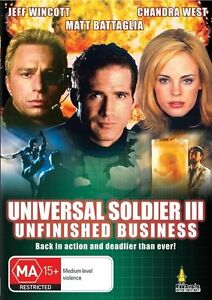Universal-Soldier-3-DVD-034-Unfinished-Business-034-Burt-Reynolds-RARE-BRAND-NEW