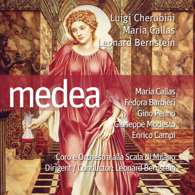 Oper CD Medea mit Leonard Bernstein, Maria Callas 2CDs Gesamtaufnahme