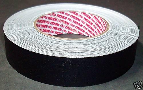 Selbstklebendes Fälzelband Gewebeband Regutex 50 m x 30 mm schwarz