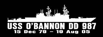 USS HEWITT DD 966 Decal U S Navy Military USN S01