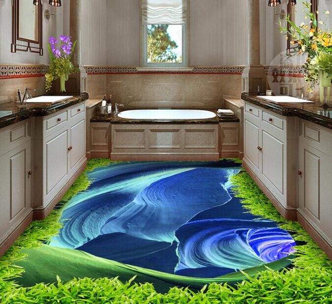 3D Blaue Oberfläche 2044 Fototapeten Wandbild Fototapete BildTapete Familie DE