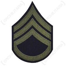 US AMERICAN STAFF SERGEANT ARM RANK BADGE PATCH WW2 REPRO
