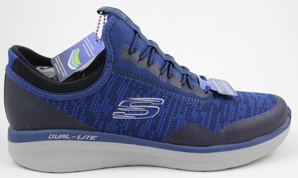 Homme Skechers Synergy 2.0 Turris 52650 / Nvbl Bleu Marine Tout Nouveau