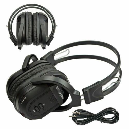 Wireless Infrared Headphones For 2009-2016 GMC Terrain 2 Channel Fold In Headset