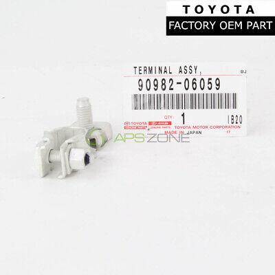 GENUINE NEW OEM Toyota Lexus 90982-06059 NEGATIVE Battery Terminal w Nut