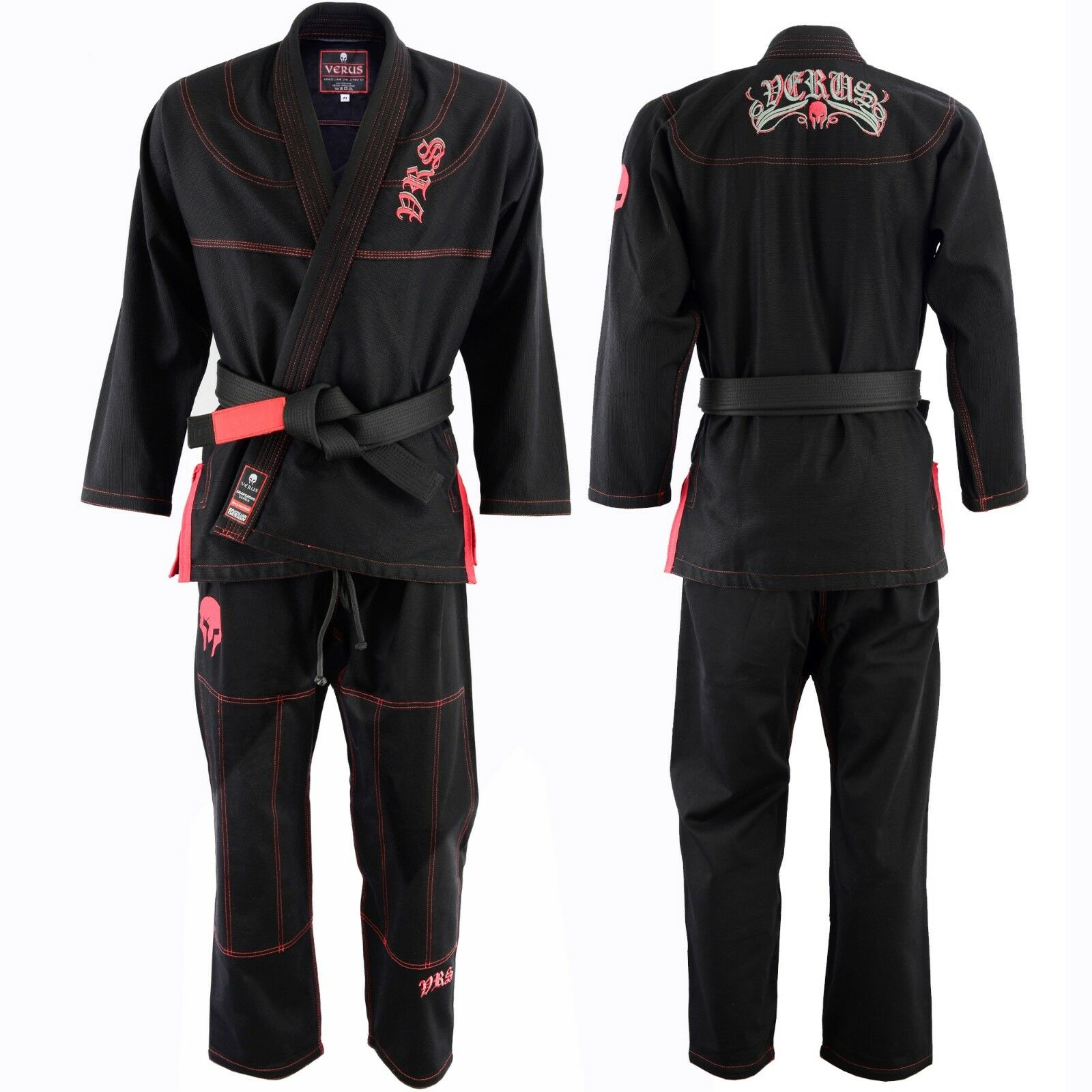 Jiu Jitsu Gi Uniform MMA A5 Brazilian Fight Wear Spartacus Edition II BJJ