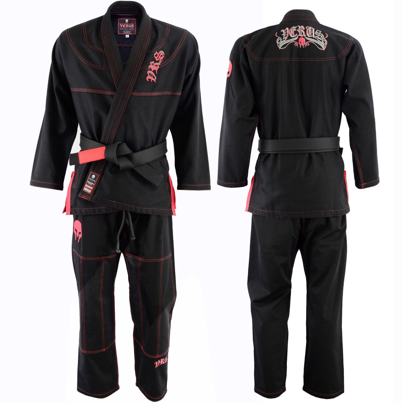 Jiu Jitsu Gi MMA A0  Brazilian Fight Uniform Spartacus Edition II BJJ Weave  for sale online