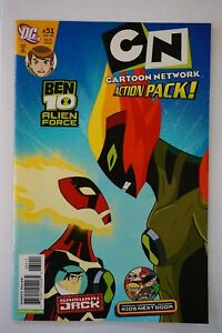 BEN 10 ALIEN FORCE Comic #33 Kids Nxt Door SAMURAI JACK