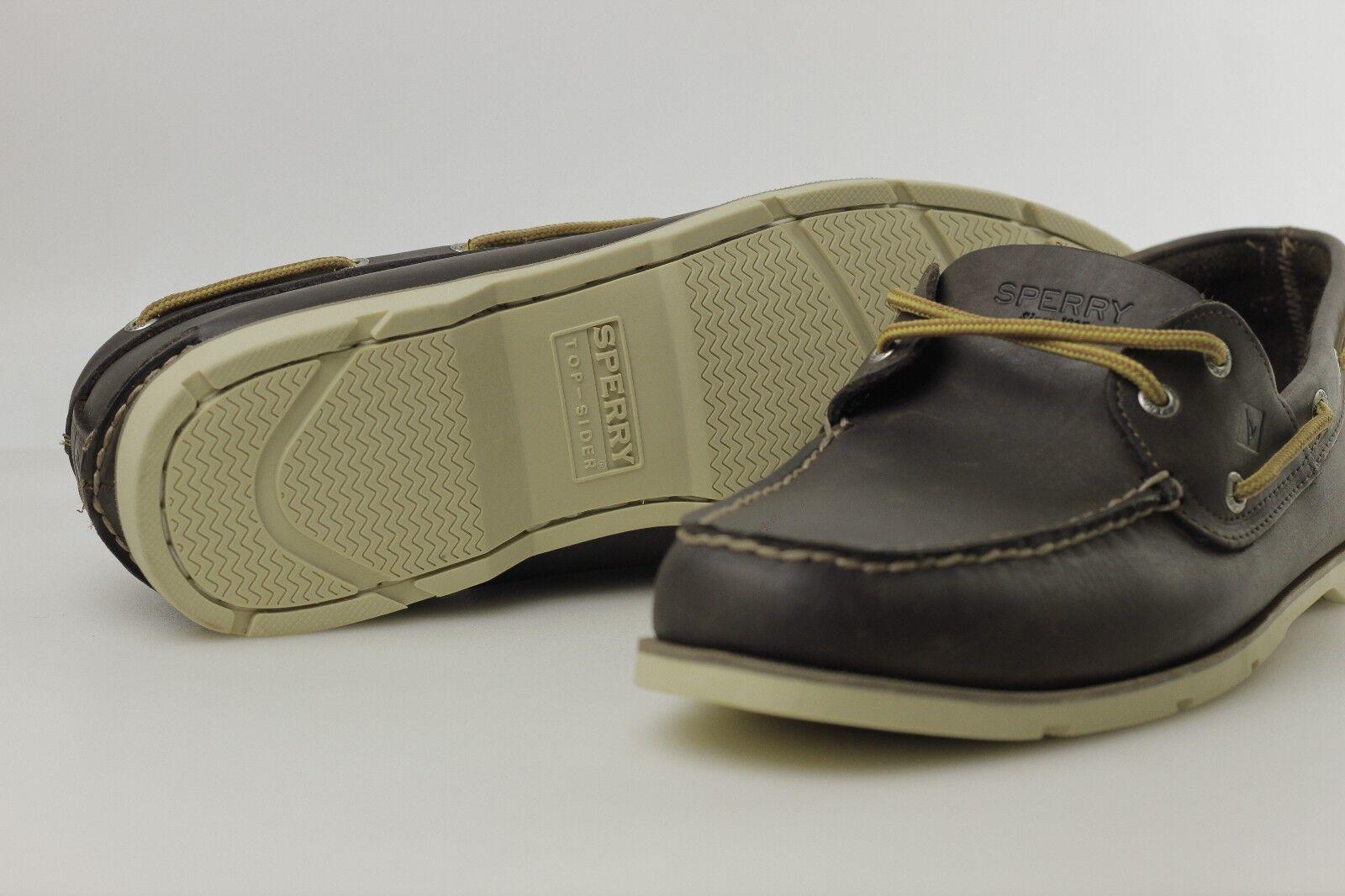 produttori fornitura diretta Sperry Top-Sider Leeward 2-EYE 2-EYE 2-EYE Boat scarpe Uomo Dimensione 14M (0770594) NWOB  Garanzia di vestibilità al 100%