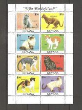 Katzen Guyana 3843/3850 postfrisch