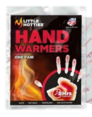 Little Hotties Hand Warmers 8 Hours Pocket Glove Warmer 20 Pairs NEW