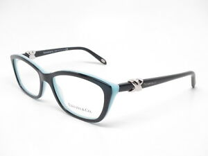ee262254cbb Tiffany   Co TF 2074 8055 Top Black   Blue Eyeglasses 52mm