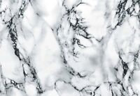 D-C-FIX SELF ADHESIVE STICKY PLASTIC FILM STICKER VINYL MARBLE WHITE 67.5cm x 2m