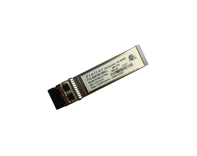 Dell Compatible Finisar Avago 407 Bbrj 10gbe Usr Sfp 850nm Wavelength 07d64h For Sale Online
