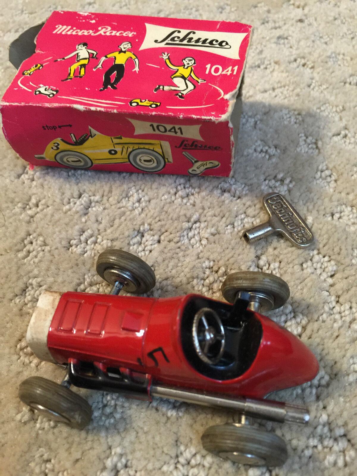 Schuco   1041 zwerg - racer 1951 deutschland w schlüssel und original - box