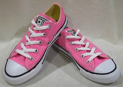 Converse Girl/'s Chuck Taylor AS OX Mouse//Pink Foam Sneakers-Assorted Sizes NWB