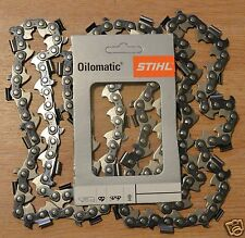 "25"" 63cm Genuine Stihl Planking 10 Ripping Chainsaw Chain .404"" 80 Links Tracked"