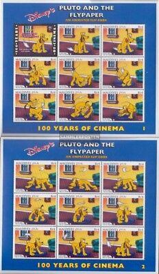 Postfrisch 1996 Walt-disney-figuren Reich Und PräChtig kompl.ausg. Freundlich Malediven 2743-2759 Kleinbögen