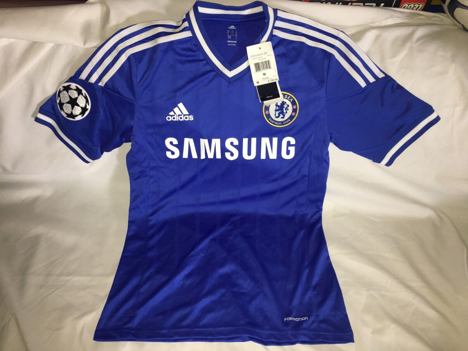 Adidas 13 14 Chelsea Champions League Authentic Formotion Jersey Hombre Taille