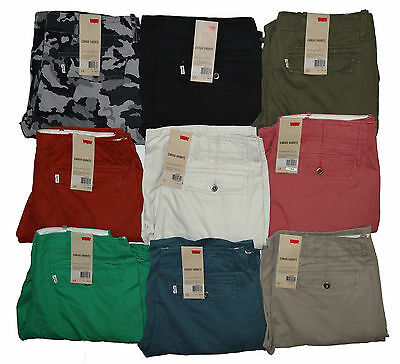 LEVI'S MEN'S ACE I CARGO SHORTS WITH 9 COLORS 30 31 32 33 34 36 38 +