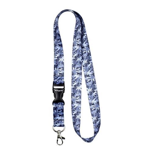 Pack of 3 Camouflage Lanyard neck strap for ID badge holder with metal clip
