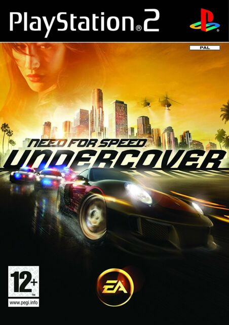 Need For Speed: Undercover - Playstation 2 (PS2) - UK/PAL