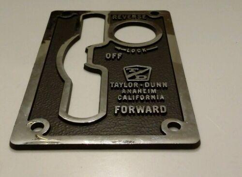 Taylor Dunn Plate Forklift Forward//Reverse SW 94-307-001  Reverse Lock Forward