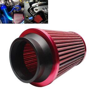 75mm-Auto-Sport-Luftfilter-Sportluftfilter-Flansch-75mm-RAM-COLD-Runder-Kegel