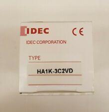 New Open Box Idec Ha1k 3c2vd Ip65 Push Button Switch Dpdt 01ac3 Way