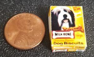 Pleasant Details About Dollhouse Miniature Box Of Milk Bone Dog Treats 1 12 Scale Beutiful Home Inspiration Truamahrainfo