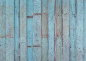 7x5ft tiffany blue wooden wall background studio portrait photo