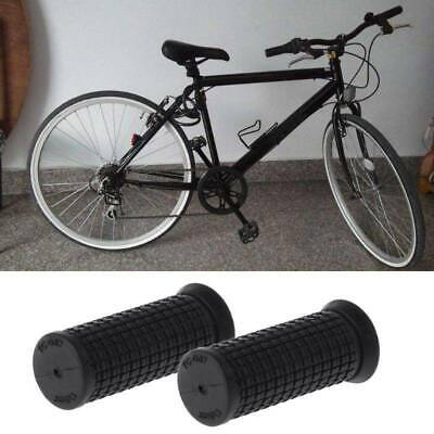 2pcs Bicycle Grips Short Handle Rubber Non Slip Cycling Scooter Bike Parts RSJJH