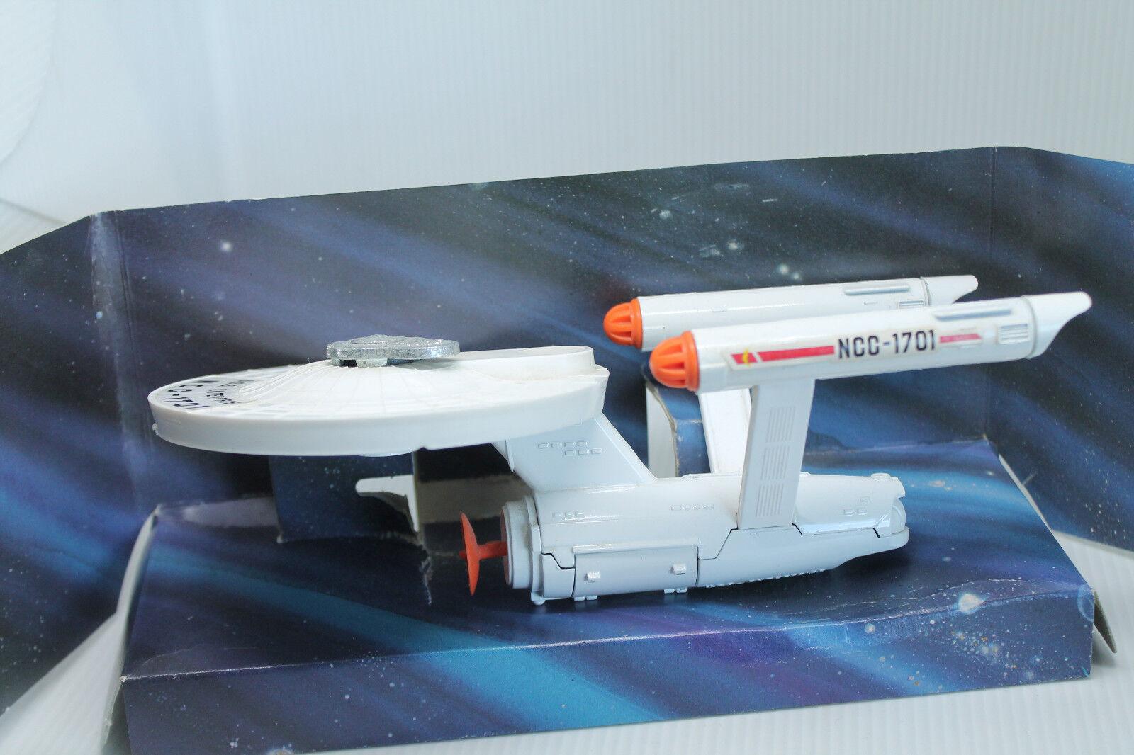 DINKY TOYS  358  U.S.S ENTERPRISE  STAR TREK TREK TREK  ORIGINAL  OVP   1977 (2) 0421cf